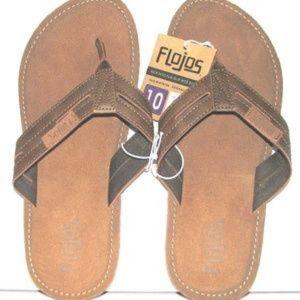 2b8ea4933eb3a1 flojos Shoes - Flojos Alonzo Cognac (Brown) Men s Size Flip Flop